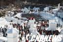 [포토뉴스]태백산 눈축제 첫 주말 25만 인파 몰려… 태백시가 '후끈'