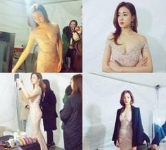 """강소라 우아한 '자태'와 베이글 '몸매'에 누리꾼들 """"현빈이 반할만하네"""""""