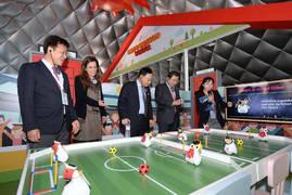 SK텔레콤, 바르셀로나에 '한국의 ICT 체험관' 개관