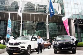 포스코, 쌍용자동차 신차 'G4 렉스턴' 공동 프로모션 진행
