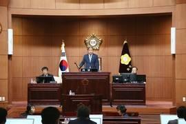 최용주 화성시의원 대표 발의, '바다모래 채취 반대 결의안' 원안 가결