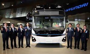 현대차, '현대 트럭 & 버스 메가페어'에서 '일렉시티' 공개