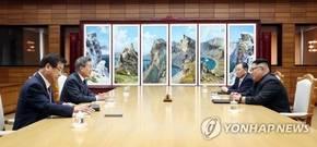 文대통령, 김정은 위원장과 오늘 두번째 정상회담