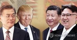 """靑 """"북중정상회담, 한반도 비핵화에 긍정적 영향 미쳐"""""""