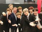 '이니'와 BTS, 프랑스에서 만났다…문 대통령, '한불 우정콘서트' 관람