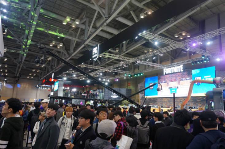 [생생르포] 부산, 게임의 향연 빠지다…유저 천국 '지스타 2018'