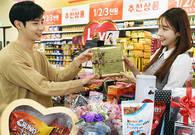 [생생현장] 롯데·신세계·오리온·SPC…유통·식품업계 '밸런타인데이' 대전 중
