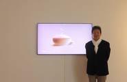 [생생현장] 스크린에 꽃비 내리다…삼성전자의 특별한 '디지털 미술展'