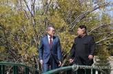 """트럼프 방한 전 '4차 남북정상회담' 추진…박지원 """"남북간 상당한 대화하고 있어"""