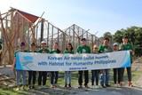 대한항공, 필리핀에서 사랑의 집 짓기 봉사활동
