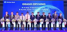 신한베트남은행, '다낭·미딩·짱주에·빈증뉴시티' 4개 영업점 추가 개점