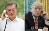 文대통령-트럼프 30분간 통화…한반도 평화 진전방안 논의