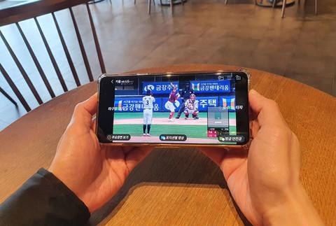 [생생현장] KT·LG유플러스…막 올린 '야구 중계 대전'