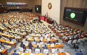 여야 다시 '대치 정국'...'부동산법·공수처법' 일방통과 후폭풍
