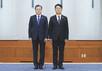 문재인 대통령, 윤종인 초대 개인정보보호위원장에 임명장