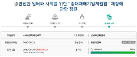 [기자수첩] '중대재해기업처벌법' 제정하라