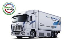 현대차 '엑시언트 수소전기트럭', 독일 IAA모터쇼 '2021 베스트 모빌리티 상' 수상