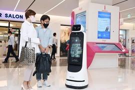 LG전자, 안내로봇 신제품 출시…방문객 안내·광고·보안 기능 갖춰