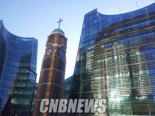 사랑의교회 서초동 새예배당. (사진=도기천 기자)
